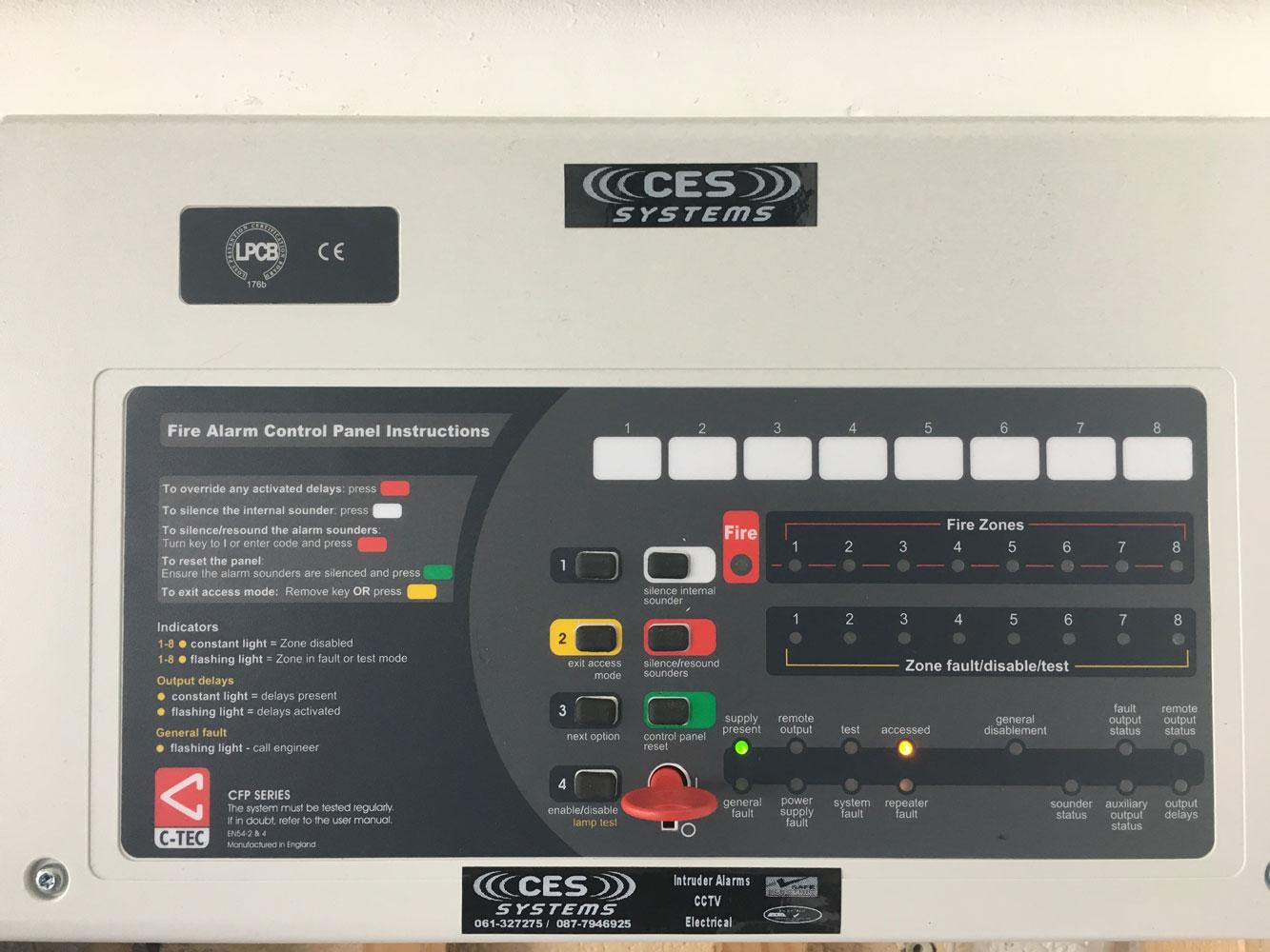 Fire Alarm - CES Systems